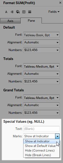 Formatieren von Zahlen und Nullwerten