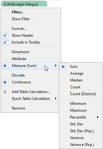 Data Aggregation in Tableau - Tableau