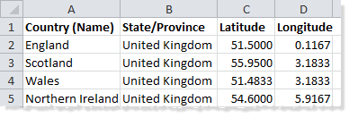 Map Locations Not Recognised - Tableau