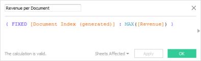 JSON File - Tableau