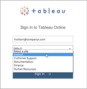 Sign in to Tableau Server or Online - Tableau