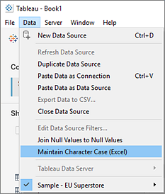 Join Your Data - Tableau
