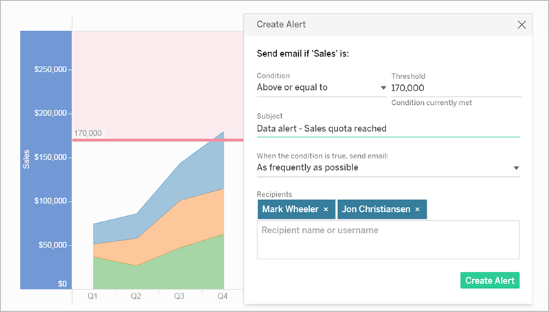 schedule metrics whats new in tableau