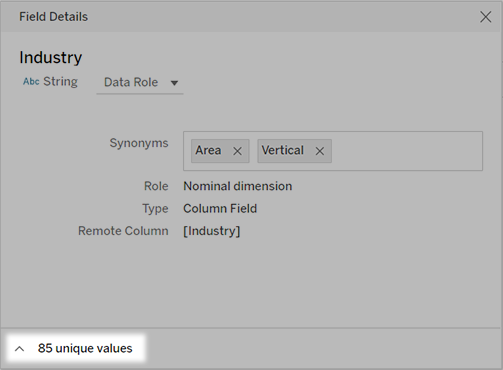 Add Synonyms For Ask Data Tableau