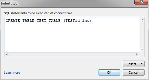 Run Initial SQL - Tableau