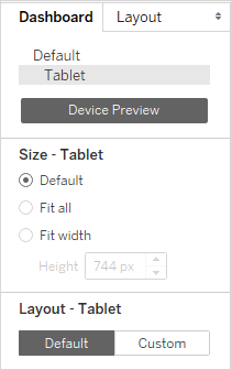 Create Dashboard Layouts for Different Device Types - Tableau