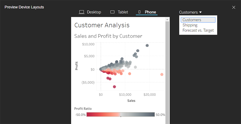 Publish a Workbook - Tableau