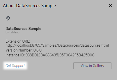 Use Dashboard Extensions - Tableau