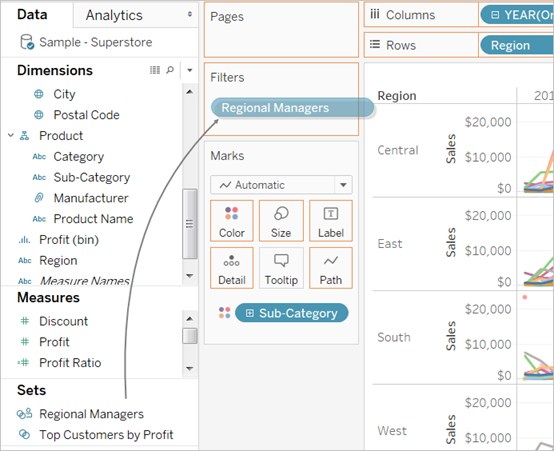 Create a User Filter and Secure it for Publishing - Tableau