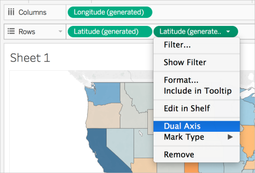 Create Filled Maps With Pie Charts In Tableau