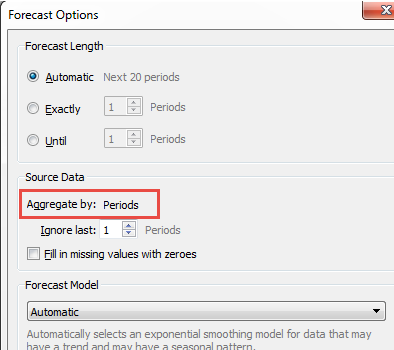 Forecasting When No Date Is In The View Tableau