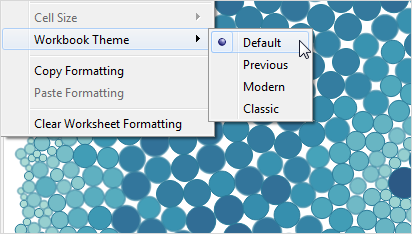 format at the workbook level tableau