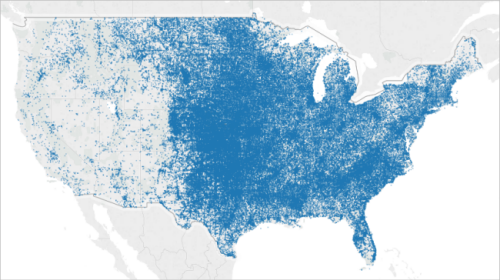 Mapping In Tableau - Create us map