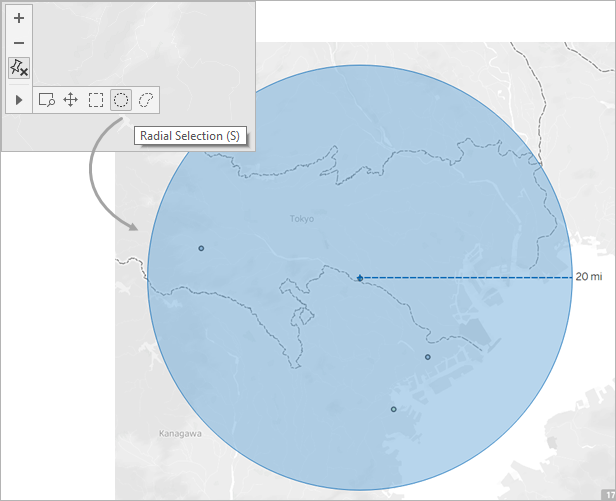 Measure Distances Between Data Points And Locations In A Map - Map your distance