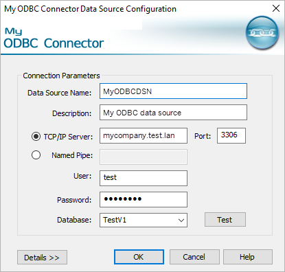 Other Databases (ODBC) - Tableau
