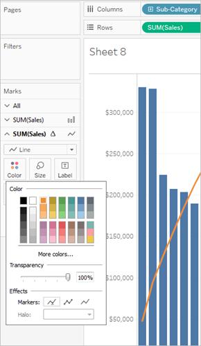 Create A Pareto Chart Tableau