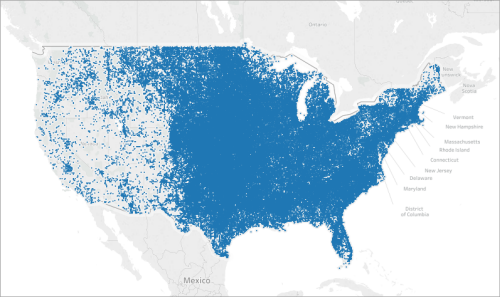 Create Maps that Highlight Visual Clusters of Data in Tableau - Tableau