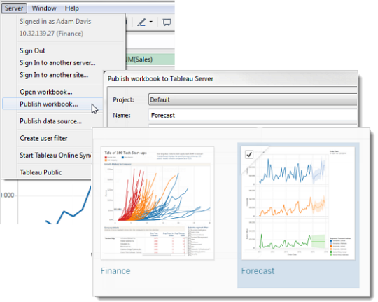 Work with Content Revisions - Tableau