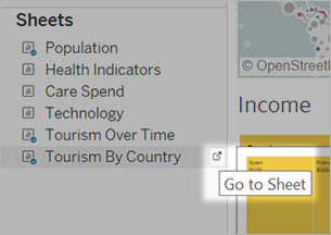 Hide and Show Sheets in Dashboards or Stories - Tableau