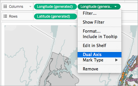 Create Tableau Maps From Spatial Files - Get tableau map to just show us