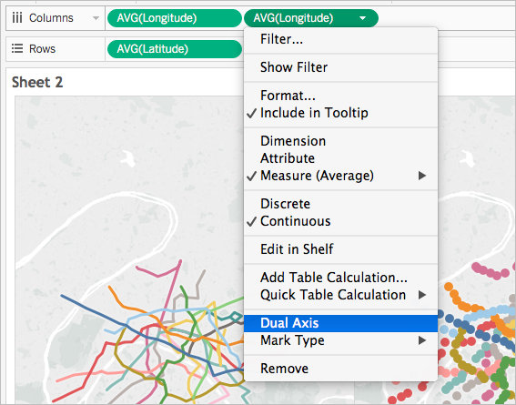 Create Maps That Show Paths Between Origins And Destinations In