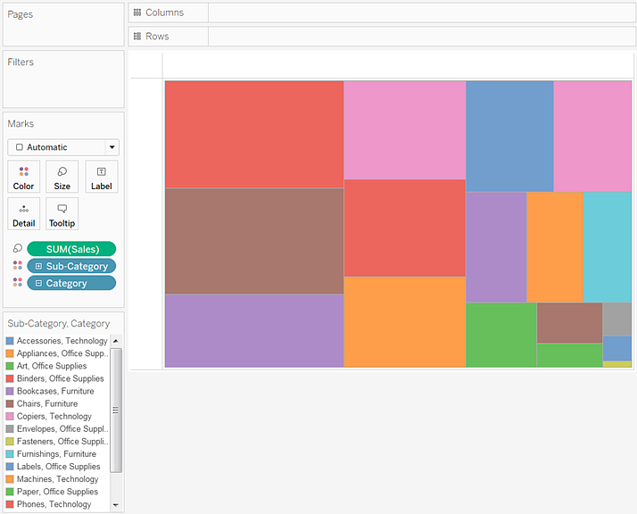Example – Multiple Fields on Color