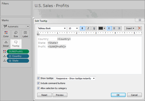 Create Views for Tooltips (Viz in Tooltip) - Tableau