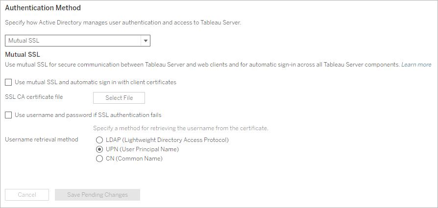 Konfigurieren der gegenseitigen SSL-Authentifizierung