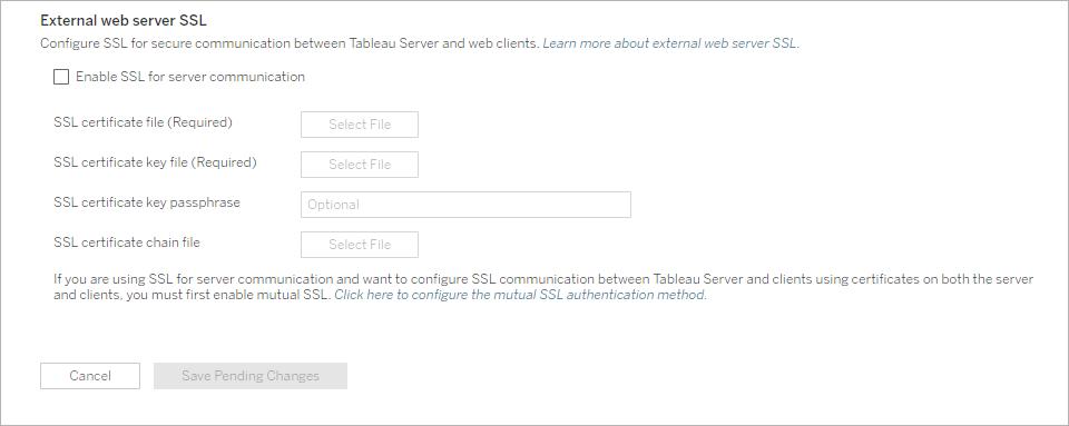 Konfigurieren von SSL für den externen HTTP-Verkehr von und an ...