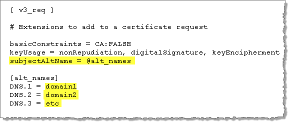 Example: SSL Certificate - Generate a Key and CSR - Tableau