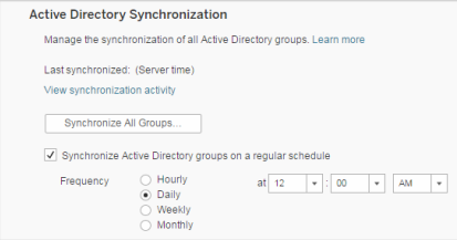 Synchronize All Active Directory Groups on the Server - Tableau