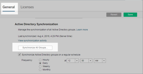 Quick Start: Synchronize All Active Directory Groups on a